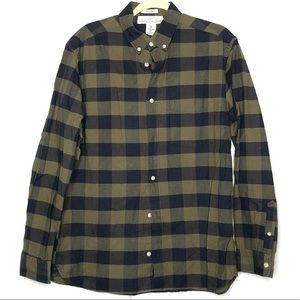 Men's LOGG H&M Plaid Flannel Button Down Shirt